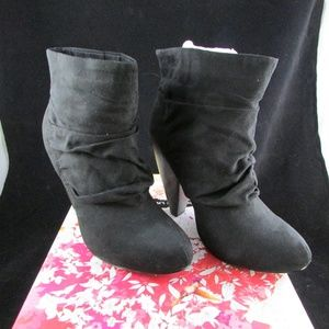 Size 7 Chinese Laundry Ultra Suede Booties